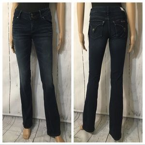 Hudson Beth Baby Boot Cut Jeans Sz 25 X 33
